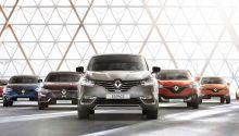 Range Renault modellen 2016
