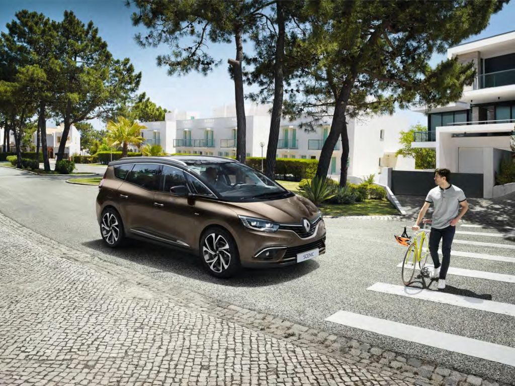 Nieuwe Renault Scénic met Hybrid Assist