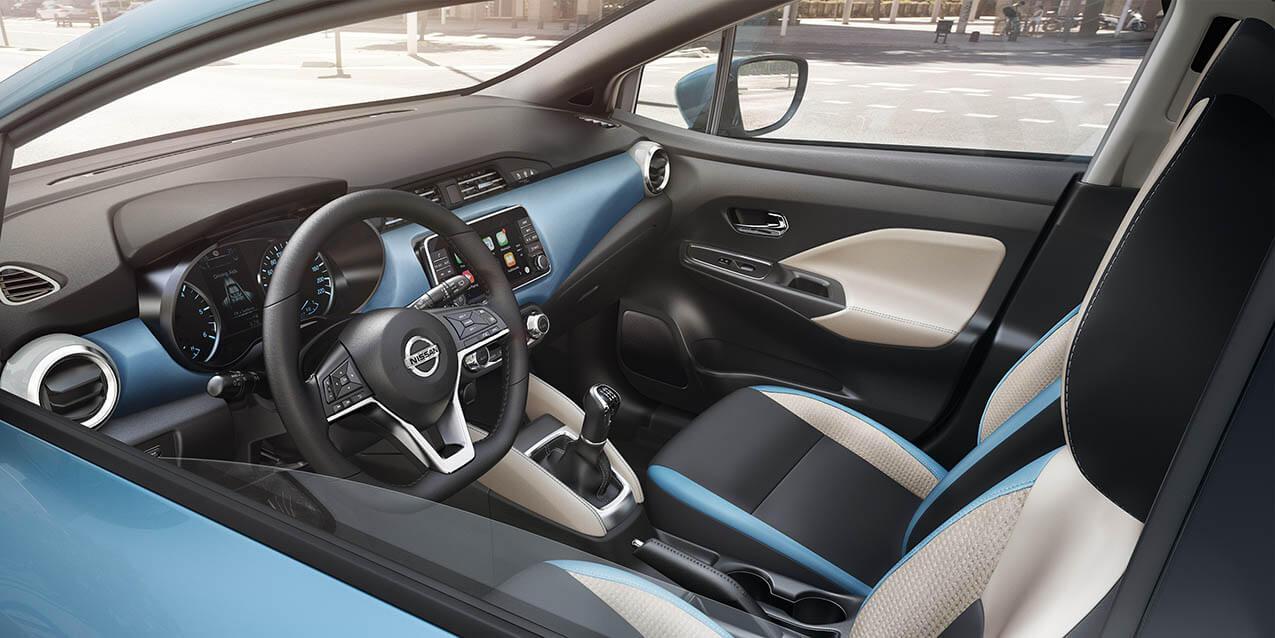 Het interieur van de nieuwe Nissan Micra | Bochane Nissan
