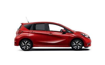 Nissan Note zijkant