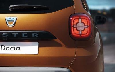 Dacia Duster achterzijde