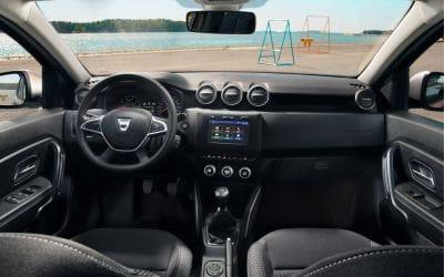 De nieuwe Dacia Duster interieur