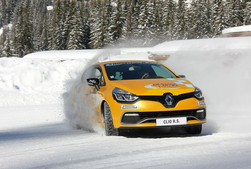 Renault RS ice driving