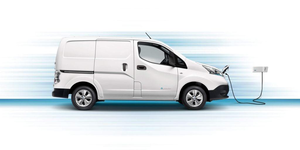Nissan E Nv200 Van Bestelauto Bochane Groep