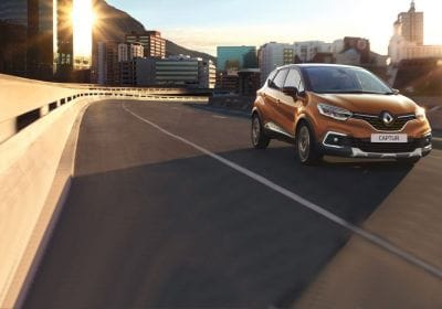 Renault Captur model 2017 voorzijde