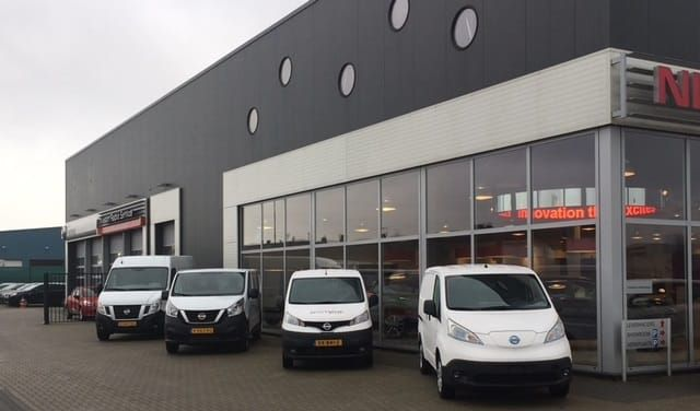 Nissan bedrijfswagens Ede