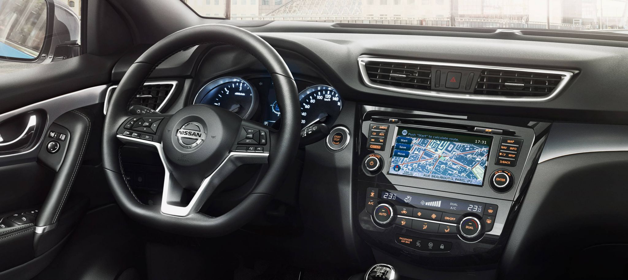 Nissan qashqai interieur bochane groep for Interieur foto s