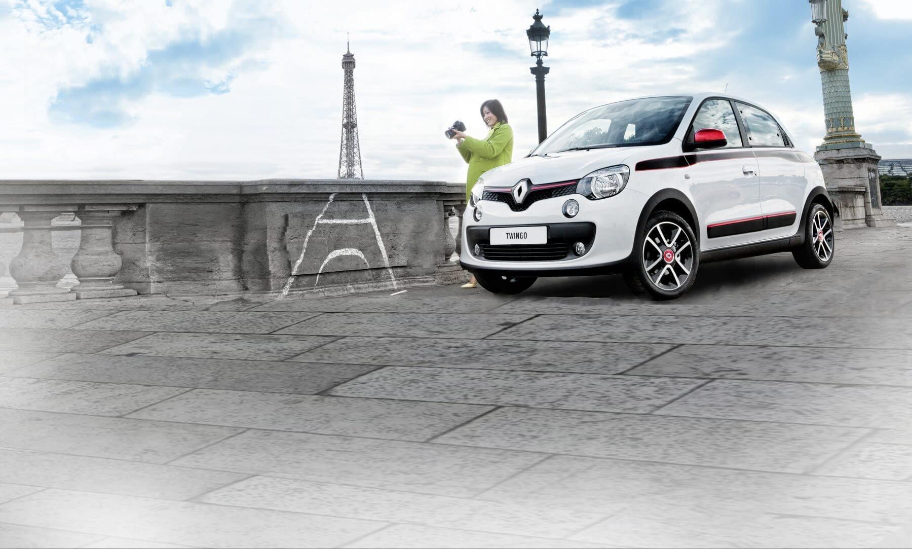 Renault Twingo Vooraanzicht