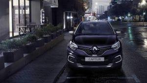Voorzijde Renault Captur Initiale Paris