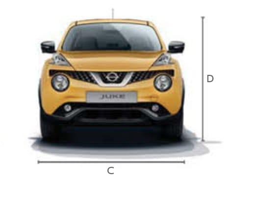 Nissan Juke Afmetingen - Bochane Groep