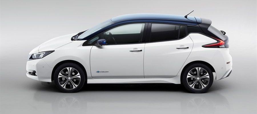 Nissan Leaf Lease >> Nissan LEAF Afmetingen - Bochane Groep
