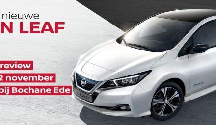 Exclusieve preview nieuwe Nissan Leaf bij Bochane Ede