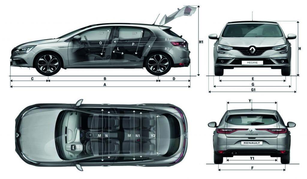 Renault Megane Afmetingen Bochane Groep