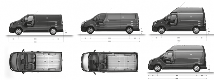 Renault Trafic Afmetingen Bochane Groep