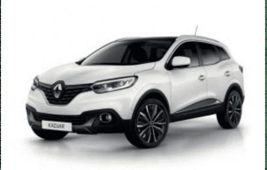 Renault Kadjar in de kleur Blanc Nacré QNC