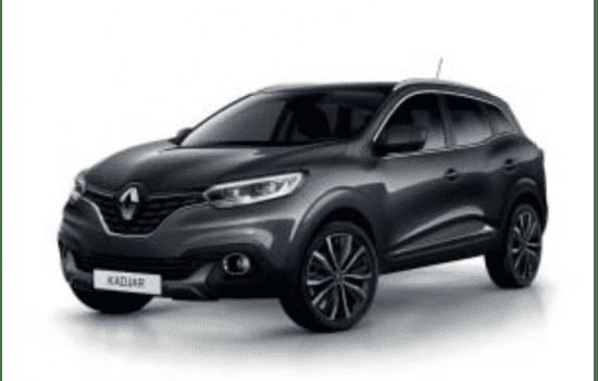 Renault Kadjar in de kleur Gris Titanium