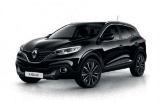 Renault Kadjar in de kleur Noir Etoilé