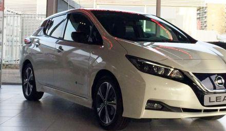Nissan LEAF nu verkrijgbaar bij Bochane