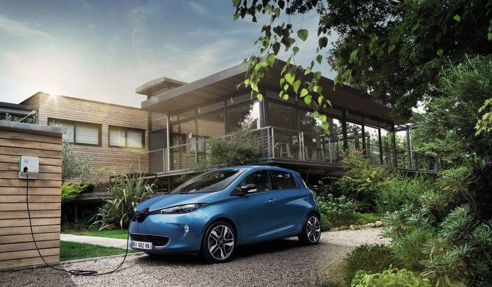 Elektrisch Auto S Milieu Bochane Groep