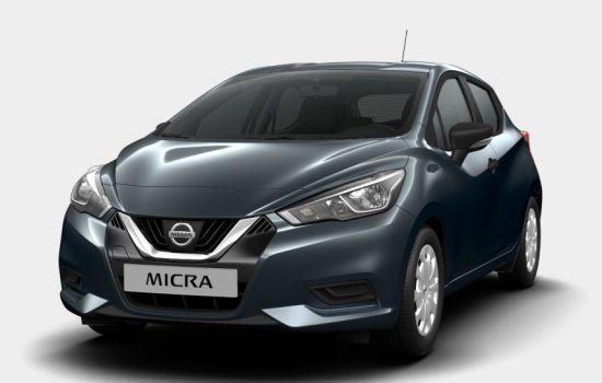 Nissan Micra Gunmetal Grey
