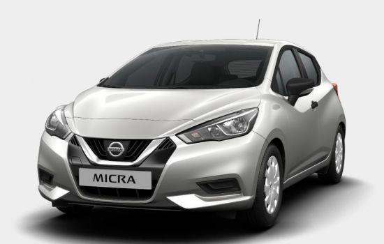 Nissan Micra Platinum Silver