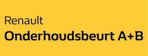 Renault Onderhoudsbeurt A+B