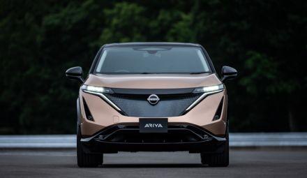 Volledig nieuwe elektrische Nissan Ariya coupé crossover