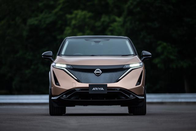 Nissan Ariya voorkant